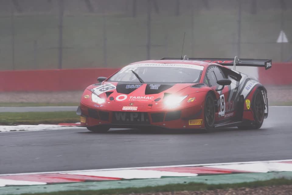 The WPI Motorsport Lamborhgini