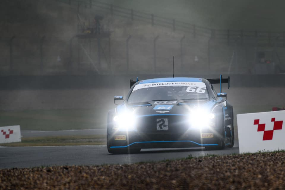 The Team Parker Racing Bentley Continental GT3 at Donington Park